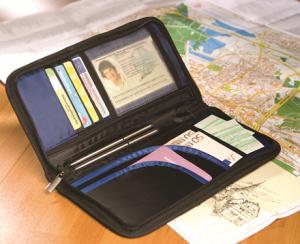 Novčanik za putovanja